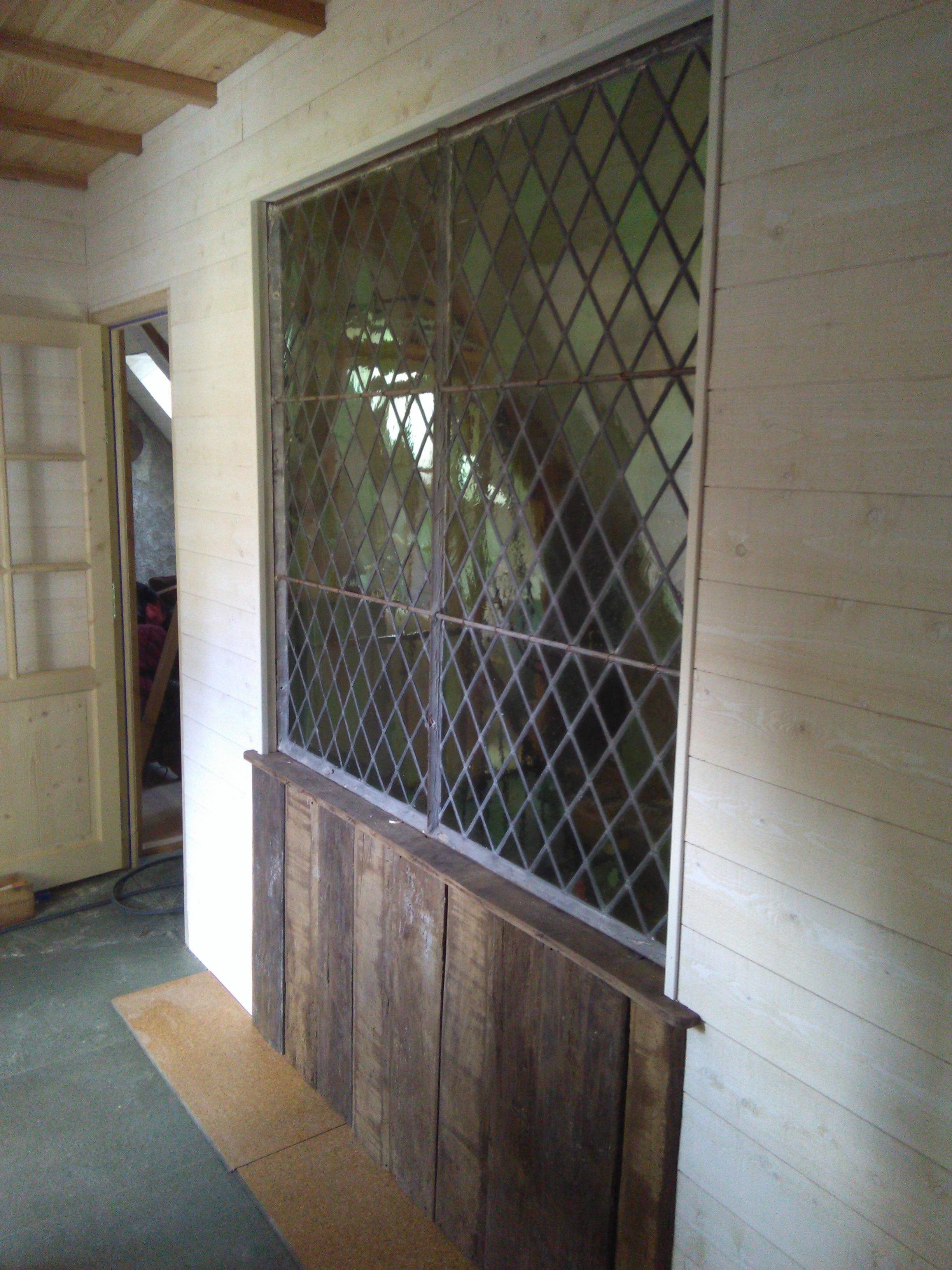aménagement intérieur en bois