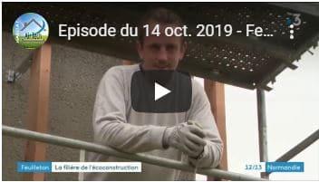 Feuilletons vidéo sur l'éco-construction en Normandie