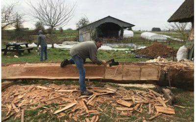 À Bourgtheroulde, la passion du bois de Jérôme Mouchel