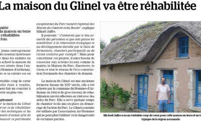 La maison du Glinel réhabilitée par Mikael JAFFRE